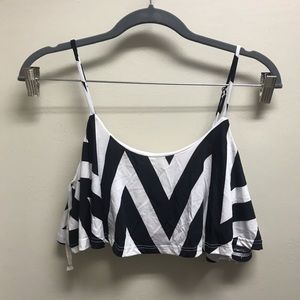 ⭐️ 5 for $10⭐️ Black and White Bathing Suit